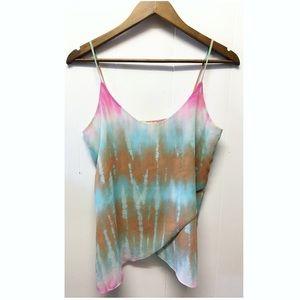 Soprano | Fun Summer Tie Dye Tank Top Boho Vibe